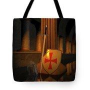 Secret Of The Knights Templar Tote Bag