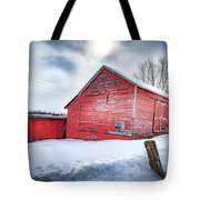 See Red. Tote Bag by Kendall McKernon