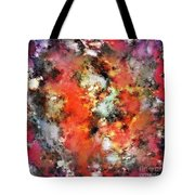 See The Flames Tote Bag