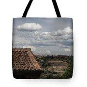 Segovia Sky II Tote Bag by Juan Contreras