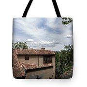 Segovia Sky Tote Bag by Juan Contreras