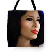 Selena Forever In Our Hearts Tote Bag