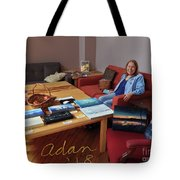 Self Portrait 15 - Sheila Helping Deliver My Images To Art Hop 2018 Tote Bag