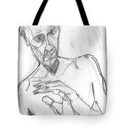 Self-portrait Pencil Reach 11 Tote Bag