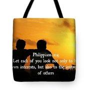 Selflessness 2 4  Tote Bag
