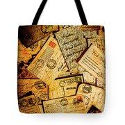 Sentimental Writings Tote Bag