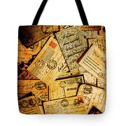 Sentimental Writings Tote Bag
