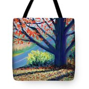 Sentinel By The Road Tote Bag
