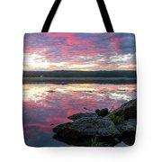 September Dawn At Esopus Meadows I - 2018 Tote Bag