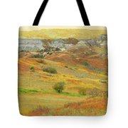 September In The Realm Of West Dakota Tote Bag