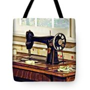 Sewing Machine In Kitchen Tote Bag