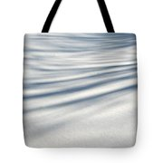 Shadows In The Snow Abstract By Artist4god Tote Bag by Rose Santuci-Sofranko