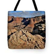 Shafer Canyon In Canyonlands Np Tote Bag