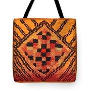 Shaman Tribal Badge Tote Bag