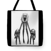Shambling Flesh Seeker Nurse - Artwork Tote Bag by Ryan Nieves