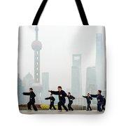 Shanghai Morning Tai Chi Tote Bag