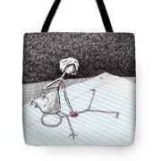 Sharing Her Heart Tote Bag