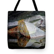 Shawanaga Rock And Reflections I Tote Bag
