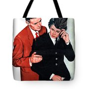 She Is Going Away Tote Bag