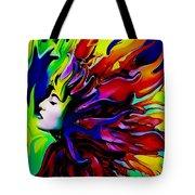 She Transcends Tote Bag