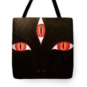 She Who Watches  Tote Bag