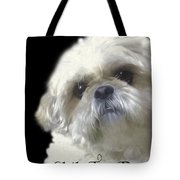Shih Tzu For Dad-bubba Tote Bag
