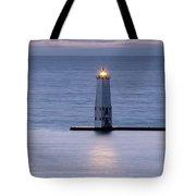 Shining Light Tote Bag by Fran Riley