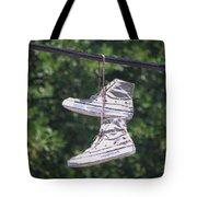 Shoefiti 72793dp Tote Bag by Brian Gryphon