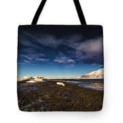 Shoreline With Driftice Tote Bag