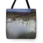Shoshone Falls Rainbow Tote Bag
