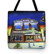 Show Time-acadia Cinema Tote Bag