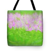 Showy Stonecrop Framed Tote Bag