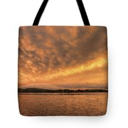 Shrouding Mosinee Hill Tote Bag by Dale Kauzlaric