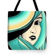 Shy Girl Tote Bag