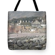 Sidmouth Sea Front Tote Bag