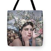Silent Messenger Tote Bag