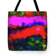 Silk-featherbrush Number 3 - Symphony Of The Wandering Refugees Tote Bag