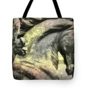 Silver And Gold  Art Tote Bag
