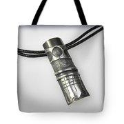 Silver Pendant Tote Bag