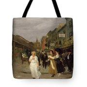 Sixth Avenue And Thirtieth Street, New York City, 1907 Tote Bag