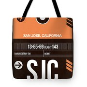 Sjc San Jose Luggage Tag II Tote Bag