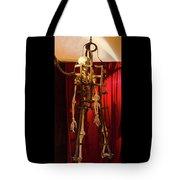 Skeleton  In Torturedevise Tote Bag