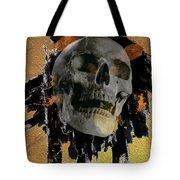 Skull - 9 Tote Bag