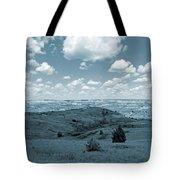 Sky And Prairie Dance Tote Bag