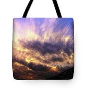 Sky Burst Tote Bag