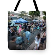 S L O   Farmers Market Tote Bag by Mike Long