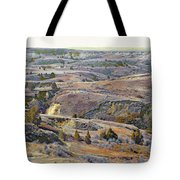 Slope County Badlands Reverie Tote Bag