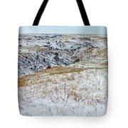 Slope County Snowfall Tote Bag