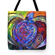 Sloppy Sea Turtle Love Tote Bag