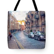 small street of Dublin Tote Bag by Ariadna De Raadt